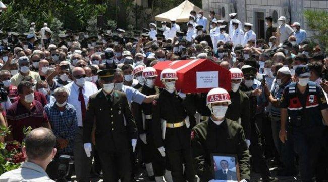 Şehit Uzman Çavuş Süleyman Ural Samsun'da toprağa verildi